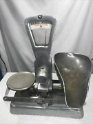 Vintage 1936-43 The Exact Weight Manual Scale Balance Co Columbus Oh