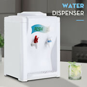 Hot Cold Water Cooler Dispenser Free Standing 5 Gallon Top Loading Home Office