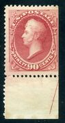 155 Mint-f-vf-og-xxxxlh W/ Cert Free Next Day Del. On Orders Over 500 1/22 Gp