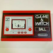 Nintendo Limited Game And Watch Ball With Box Japan Collection Import