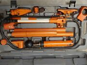 Central Hydraulics Portable Puller 44900 10 Ton With Case