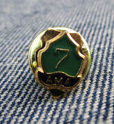 Vintage Ama Motorcycle Club 7 Year Medal Badge Pin Harley Indian Excelsior Ace