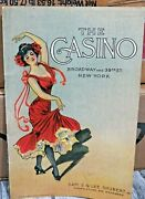 Very Rare 1906 The Casino Broadway And 39th. St. New York Book Full Of Advertising