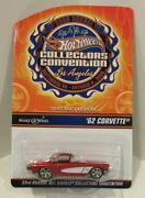'62 Corvette 2009 Hot Wheels 23rd Convention Make A Wish Real Riders 1074/3000