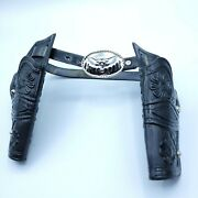 2009 Imperial Toy Legends Of The Wild West Toy Cap Gun Revolver Holster And Belt