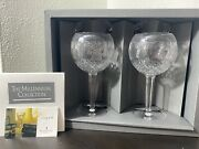 Waterford Millennium Toasting Gobletscomplete Set Of 5 Series 10 Total