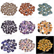 Natural 100 Types Of Cabochon Loose Gemstone Bulk Lot For Wire Wrapping Jewelry
