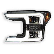 Ford F150 18-20 Recon Projector Headlights Oled Drl Led Turn Signs. Clear