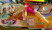 Nerf Rebelle Golden Edge Toys R Us Exclusive Limited Edition Bow Arrow New