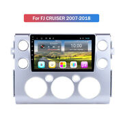 10.1 Hd Wifi Android 9.0 Car Gps Stereo 2+32g For Toyota Fj Cruiser 2007-2018