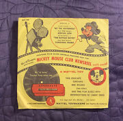 Walt Disneyand039s Mickey Mouse Club Newsreel Series J With Envelope 1950and039s