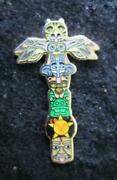 Phish Summer Tour Totem Pin Collectible Limited Edition