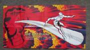 Joe Satriani Surfing With The Alien 1987 Promo Poster Silver Surfer Comic