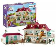 Schleich Lakeside Country House And Stable | Cowboy Style House | Toy And Gift
