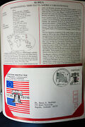 Worldwide First Day Bicentennial Stamp Cover Album Lot Of 80