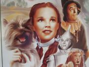 Wizard Of Oz Movie Metal Sign Nostalgic Metal Signs Matted Made In The Usa
