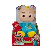 Cocomelon Jj Doll Plush Musical Bedtime 10 Soft Toy And Bear Netflix Ships Now