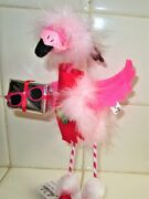 Annalee Valentine/xmas Pink Feather Flamingo Brand New 2020 Sold Out @annalees