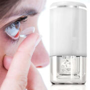 Usb Ultrasonic Contact Lens Auto Cleaner Care Case Rechargeable Cleaning Machine