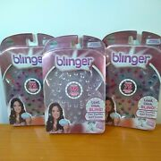 Blinger Load Click Bling Lot Of 3 Jewel Sparkle Collection Refill 225 Gems Total
