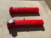 4age Valve Covers Powder Coated Red Andnbsp