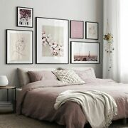 Wall Art Print Landscape Cherry Flower Drawing Poster Photograph Picture Decors