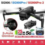Drone Sg906 Pro 2 Gps With 3 Axis Self-stabilizing Gimbal Wifi Fpv 4k Camera Dro