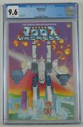 Macross 1 Cgc 9.6 - Comico 1984 Robotech Official Adaptation White Pages