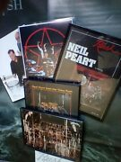 Neil Peart Rare,-classic-,vintage 8x10photo Special Collectiin