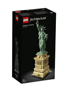 Lego Statue Of Liberty Lego Architecture Building Toy Kit 21042 New Age 16+