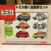 Tomica Working Car 6 Pack Made In Japan Minicar Tommy Toy Collection 741/ak
