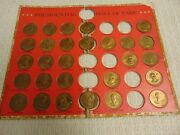 Vintage Presidential Hall Of Fame Coin Set