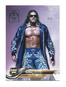 /1 2019 Topps Transcendent Vip Party 2018 Wwe Then Now Forever 192 Edge Nxt Wwf