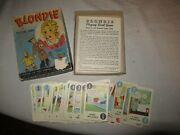 1941 Blondie Playing Card Game Whitman Boxed Complete