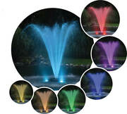 Two Light Color Changing Led Fountain Light Kits – 100′ Cord - Rgb2-100