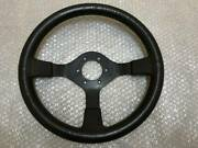 Rare Item Nissan Nismo 35andphi Leather Steering Handle Steering Wheel Pitch 75mm