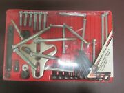Snap On 46 Piece Fractional And Metric Bolt-grip Puller Set Vintage