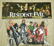 Set Figures Action Figures Terror Resident Evil Toy Mexican 3 In.