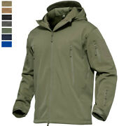 Menand039s Waterproof Military Tactical Jacket Soft Shell Outdoor Fishing Windbreaker