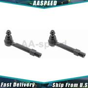 2x Front Outer Steering Tie Rod End Mevotech Supreme For 2016-2018 Mx-5 Miata