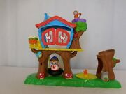 Weebles Deluxe Treehouse Playset Hasbro Wonder Club Toys + Weebles... Very Rare