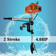 2 Stroke Outboard Motor Heavy Duty Boat Engine Water Cooled Air Cooling System