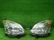 Used Coated Car Parts Toyota Ractis Previous Term Headlight Left And Right Set