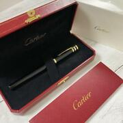 Fountain Pen No Ink Writing Instruments Black Black Gold Silver W/ Box