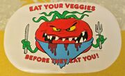 Vintage Attack Of The Killer Tomatoes Set Of 2 Placemats Very Rare Htp New 1991