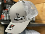 New Midwest Archery Hat Cap Adjustable Gray Camo Richardson 112 Bow Bowhunting