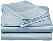 True Luxury 1000-thread-count 100 Egyptian Cotton Bed Sheets 4-pc Queen Light