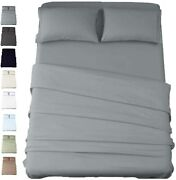 American Cotton - 600 Thread Count 2 Piece Sheets And 2 Piece Pillowcases Set -
