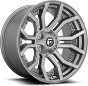 Alloy Wheels 20 Fuel Rage D713 Grey For Ford Ranger [mk5] Arch Kit 16-20