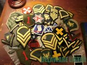 Huge Lot Of 60+us Military Army Usaf Airforce Vietnam Wwii Shirt/jacket Patches